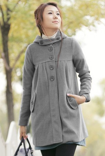Classic Fashion Button Coat (3 colors)