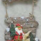 CHRISTMAS WELCOME PLAQUE CHRISTMAS HOLIDAY DECORATION