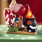 WARM IT UP SANTA .CHRISTMAS HOLIDAY DECORATION........A MUST SEE