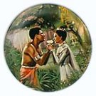 WE KISS IN A SHADOW  FROM THE MOVIE THE KING AND I   COLLECTOR PLATES