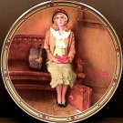 A YOUNG GIRL'S DREAM  NORMAN ROCKWELL COLLECTOR PLATES