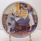 ADD TWO CUPS AND A MEASURE OF LOVE  NORMAN ROCKWELL COLLECTOR PLATES