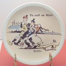 DIE WALK AM RHIEN   NORMAN ROCKWELL COLLECTOR PLATES