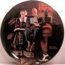 EVENING'S EASE   NORMAN ROCKWELL COLLECTOR PLATES