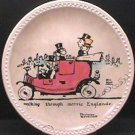 WALKING THROUGH MERRIE ENGLANDE  NORMAN ROCKWELL  COLLECTOR PLATES