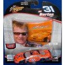 JEFF BURTON 2005 #31 CINGULAR CAR WITH HOOD MAGNET DIECAST REPLICA