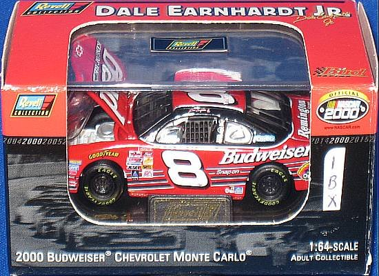 2000 8 Dale Earnhardt Jr Budweiser Car Nascar Diecast