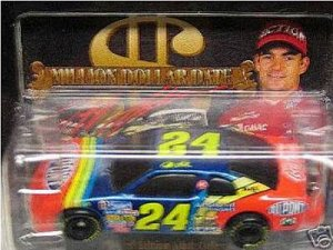 1997 JEFF GORDON #24 DUPONT MILLION DOLLAR DATE  NASCAR  DIECAST REPLICA
