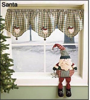 "23"" LONG SANTA SHELF SITTER"