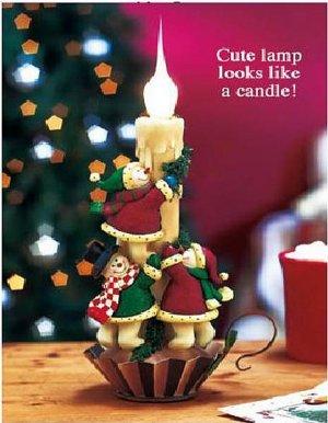 CUTE SNOWMAN LAMP