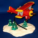 SPIRIT OF THE SNOW VILLAGE AIRPLANE