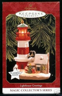 1997 Hallmark Keepsake Lighthouse Ornament