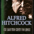 ALFRED HITCHCOCK...THE MAN WHO NEW TOO MUCH....A CLASSIC DVD