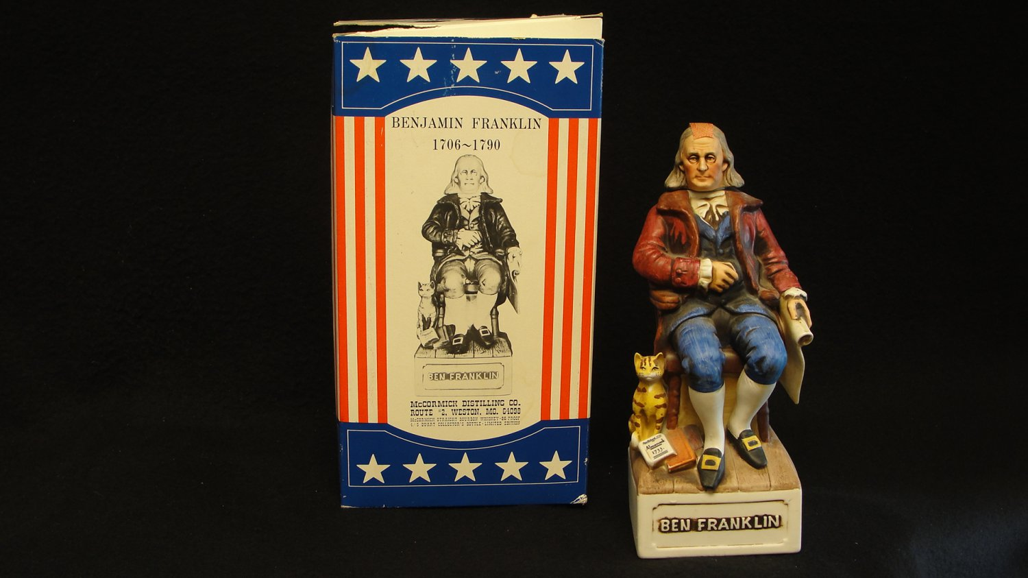 Benjamin Franklin Decanter