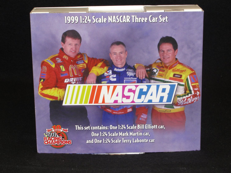 10 Years Racing Champions 3 Car Set