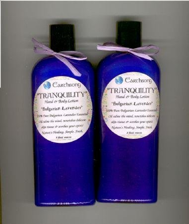 RelaXx Bulgarian *LAVENDER* Creamy Shea Lotion *EARTHSONG