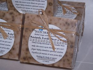 *Patchouli Fields* Patchouli Vanilla EARTHSONG Soap