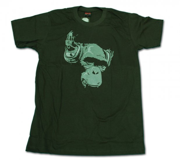 KingKong & Music Funny T-shirt Size L (FREE SHIPPING)