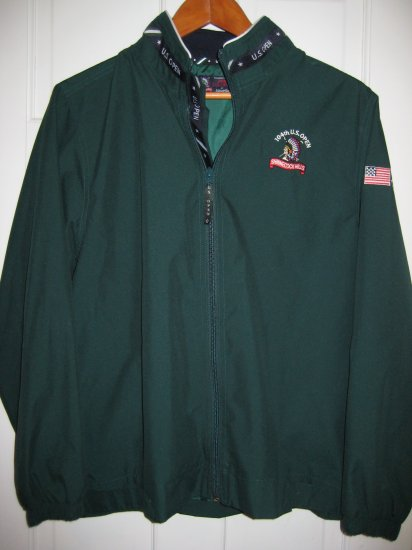 Womens Ashworth Golf Wind Jacket US Open Shinnecock Hills