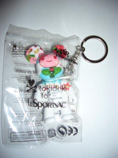 NEW LeSportsac Tokidoki Bear Key Chain