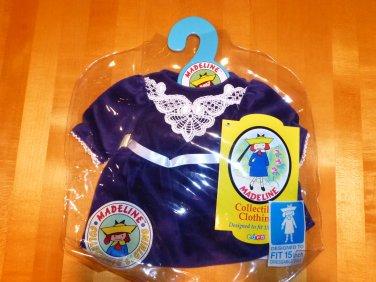 """Madeline 15"""" Doll Dress Purple Velvet"""