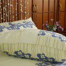 NEW luxury single / twin duvet cover & PC 350 TC Morning Meadows Collection. FREE GLOBAL S & H