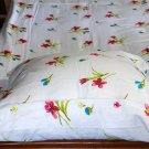 New Luxury single / twin cotton flannelle sheet set with pillowcase 425 gsm. Flower power pink