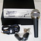 Panasonic Cardioid Dynamic Microphone Model WM-1506