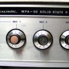 Realistic Solid State P.A. Amplifier Model MPA-50