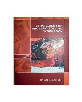 strategies for problem solving workbook