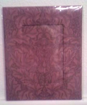 Burgundy Photo Frame