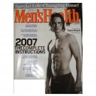 Men's Health Magazine Jan/Feb 2007 Taylor Kitsch