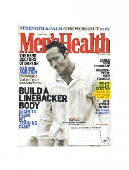 Men's Health Magazine Sept 2006