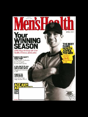 Men's Health. April 2007: David Wright