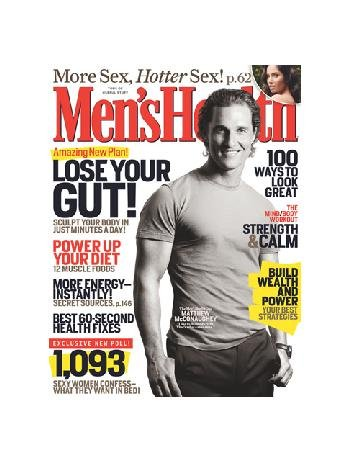 Men's Health March 2008: Matthew McConaughey