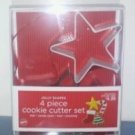 Jolly Shapes 4 piece cookie cutter set