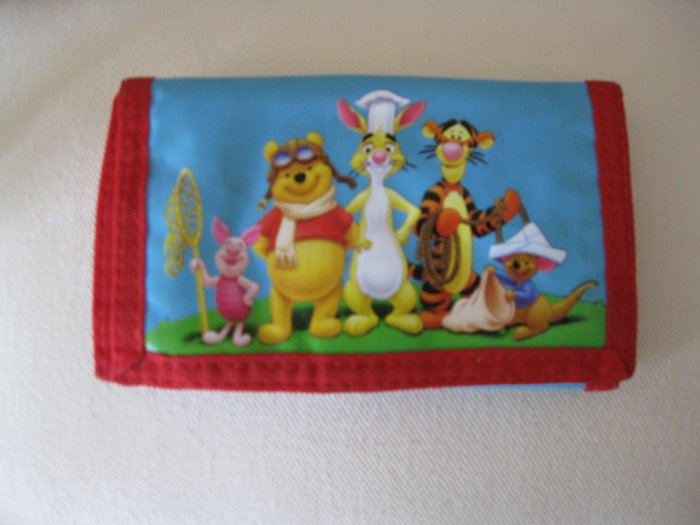 winnie the pooh and friends wallet