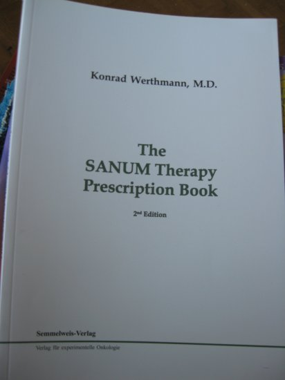 The SANUM Therapy Prescription Book