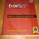 BarBri Drills & Released Questions (Multistate) 2007