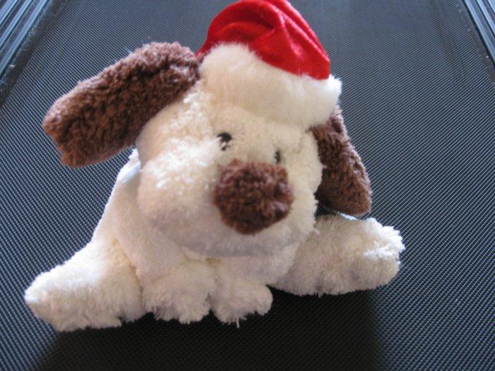 Santa's White Puppy by Dan-Dee