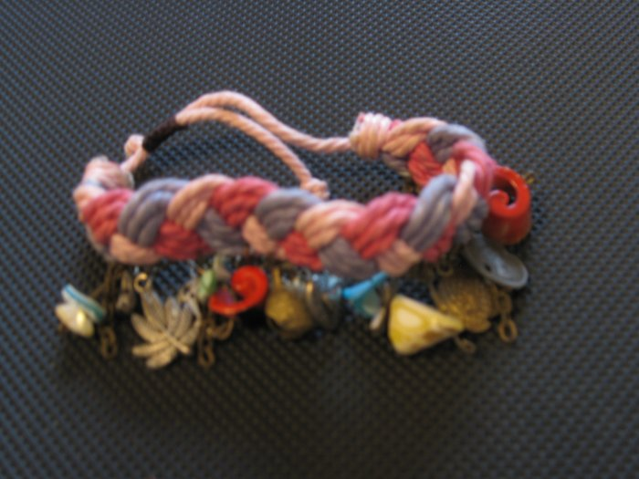 Cyprus Pink and Purple Bracelet