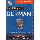 In-Flight German: Learn Before You Land (AUDIO CD)
