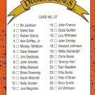 Card #27 Checklist
