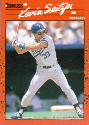 Card #85 Kevin Seitzer