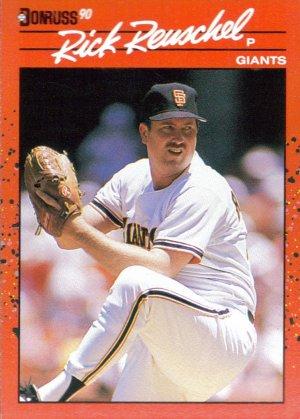 Card #112 Rick Reuschel
