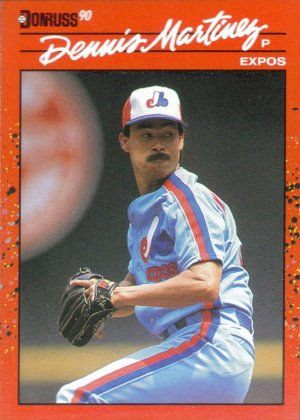 Card #156 Dennis Martinez