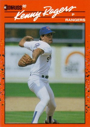 Card #283 Kenny Rogers
