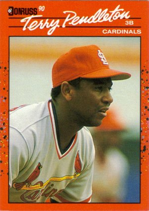 Card #299 Terry Pendleton