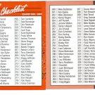 Card #300 Checklist 232-333
