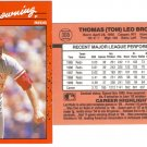 Card #308 Tom Browning